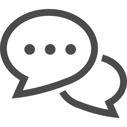 会話のアイコン